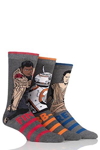 SockShop Star Wars Nouveau Héros et Méchants Chaussettes en coton - 6 paires - Homme - Assorti 39-45