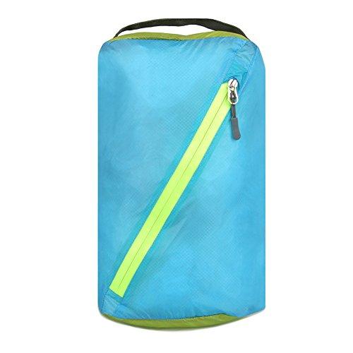 HSL ultra light wasserdichte Tasche kleider - Tasche fur reisen, kajak, kanu, blauer himmel, l