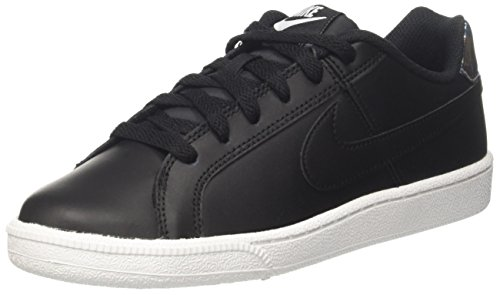 Nike Court Royale, Zapatillas Para Mujer, Negro (Black/Metallic Silver), 40 EU
