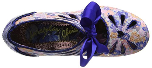 Irregular Choice Sugar Plum, Escarpins femme Bleu (Bleu)