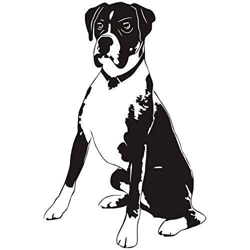 3d poster Boxer Hund Vinyl Wandtattoo Niedlichen Tier Removable Art Wohnzimmer Aufkleber Adesivo De Parede Wand Tattoogroße 56X85 cm (Playstation Boxer)