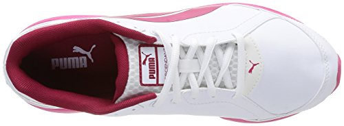 Puma Descendant Sl Jr, Scarpe Sportive Bambino Bianco (Blanc (White/Cerise/White))