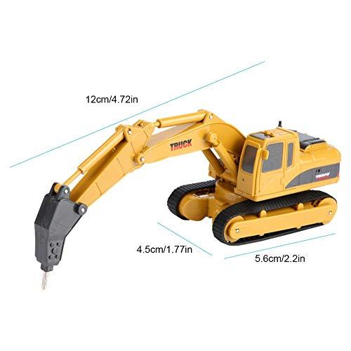 RC Auto kaufen Kettenfahrzeug Bild 6: Fernbedienung Bagger, Fernbedienung Bagger Truck Mini Digger RC Engineering Auto Baufahrzeug Spielzeug Geschenk für Kinder( 2 #)*