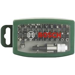 Bosch 32tlg. Bit Set für Schraub- und Montagearbeiten