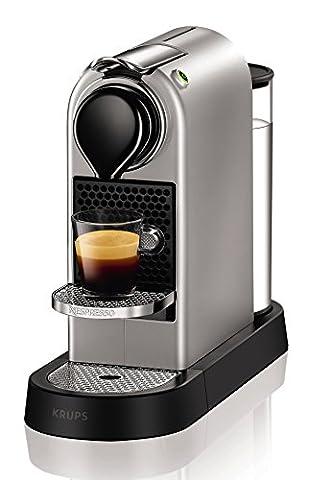 Krups Nespresso XN740B Kapselmaschine New CitiZ, Thermoblock-Heizsystem, 1 L Wasserbehälter,