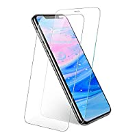 UGREEN Screen Protector 2 Pack for iPhone 11 Pro Max/Xs Max 6.5-inch, Premium Tempered Glass HD Screen Saver, 9H Hardness, 2.5D Rounded Edge, Bubble-free, Anti-Fingerprint, with Align Frame