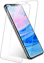 UGREEN Screen Protector 2 Pack for iPhone 11 Pro Max/Xs Max 6.5-inch, Premium Tempered Glass HD Screen Saver,