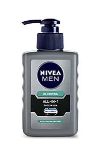 Nivea Men Oil Control All In One Face Wash Pump, 150ml