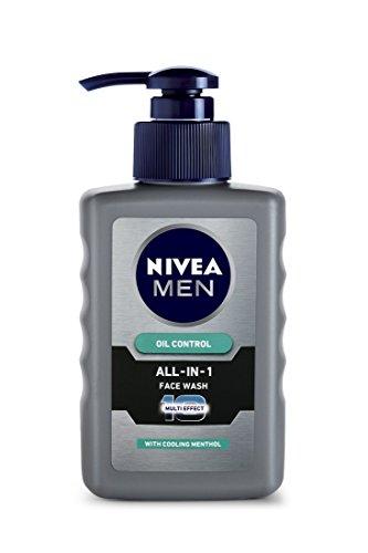Nivea Men Oil Control All In One Face Wash Pump,...