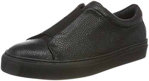 Royal RepubliQ Damen Elpique Fractal Derby Elastic-Blk Sneaker Schwarz (Black)
