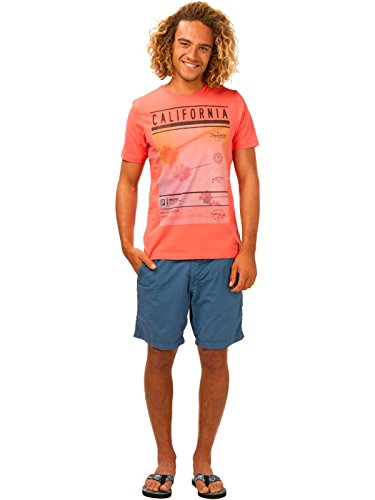 Protest T-shirts - Protest Coast T-shirt - Basic Coral Reef
