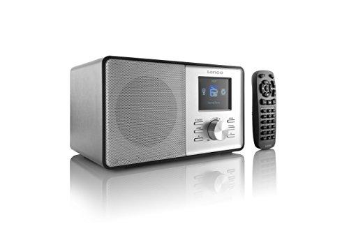 Lenco CR-2003 Internet Radio (WLAN, Fernbedienung, App, Line-Ausgang, Weckfunktion) mit PLL FM