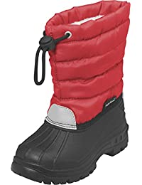 Playshoes Winterstiefel Schneeschuhe Für Kinder Mit Warmfutter, Bottes de neige de hauteur moyenne, doublure chaude fille