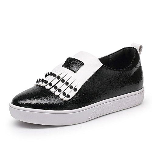 Flats automne/Chaussures à talon plat/Profonde étudiante occasionnel chaussures dames A