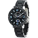 Sector Men's Quartz Watch with Black Dial Chronograph Display and Black Stainless Steel Bracelet R3273619002