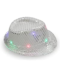 Amazon.it  Argento - Cappelli e cappellini   Accessori  Abbigliamento 0f985cdca034