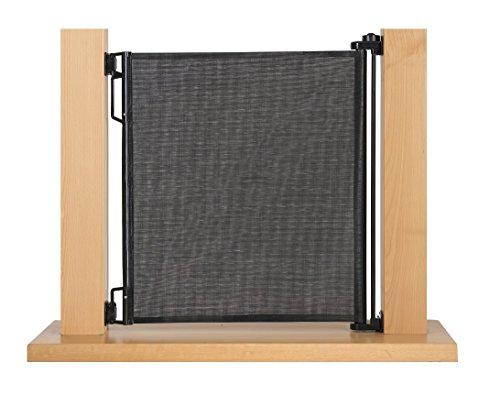 Impag Treppenschutzgitter Türschutzgitter Rollo einrollbar ausziehbar bis 140 cm - 2