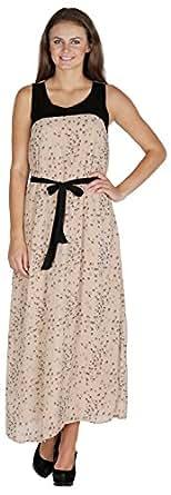 Mayra Women's Regular Fit Dress (1508D19182_S, Multi Color, S)