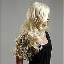 GSP-Europa y los Estados Unidos el nuevo ms rubio platino peluca pelo rizado , blonde
