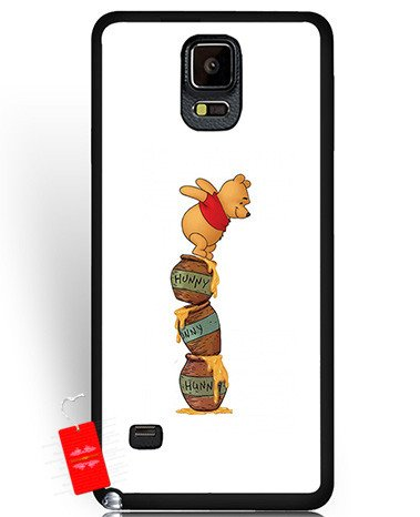 Art Samsung Galaxy Note 4 Hülle Winnie The Pooh Anime Design Smartphone...