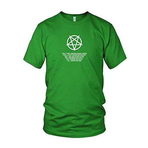 Pentagram Lingo - Herren T-Shirt Grün