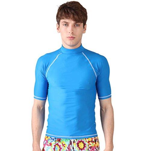pengweiindumenti di protezione solare per gli uomini e le donne del costume da bagno costume da bagno da surf manica corta 2