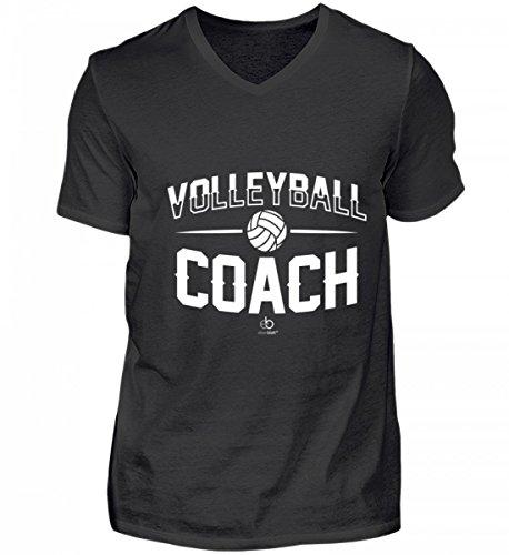 Volleyball Coach Team Trainer Player Sport Volleyballmannschaft Mannschaft Fan Geschenk - Herren V-Neck Shirt