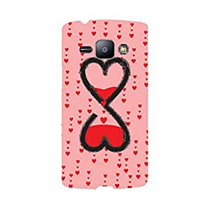 Digi Fashion Designer Back Cover with direct 3D sublimation printing for Samsung Galaxy J1