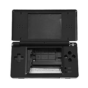 Zerone Fall Ersatz für NDSL, Ersatz Gehäuse Shell Case für Nintendo NDSL Spielkonsole mit voller Reparatur-Kit