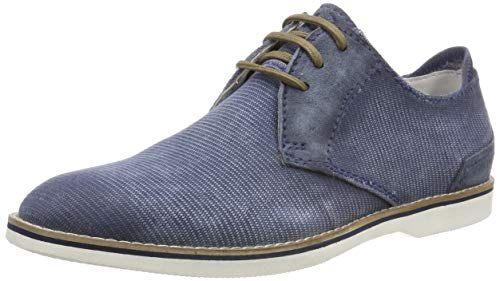 bugatti Herren 311671026900 Derbys, Blau (Light Blue 4200), 42 EU