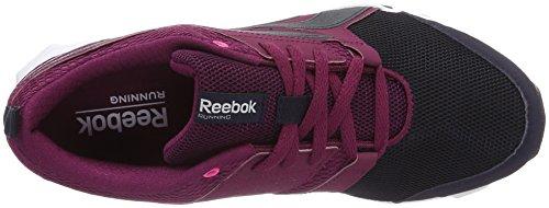 Reebok Hexaffect Sport, Chaussures de Running Entrainement Femme Violet (Rebel Berry/Purple Delirium/Poison Pink/White)