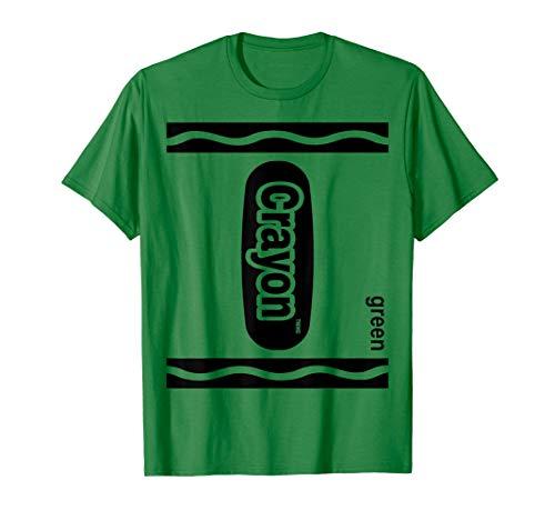 Grün Zeichenstift Kasten green Crayon Box Halloween  T-Shirt