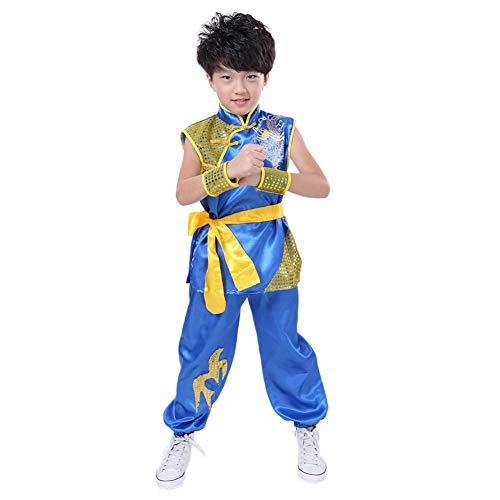 Kostüm Kung Mädchen Fu - Meijunter Chinesisch Kung Fu Kostüm - Tai Chi Kampfkunst Bühne Performance Uniform Übung Tracksuit Wushu Kleidung