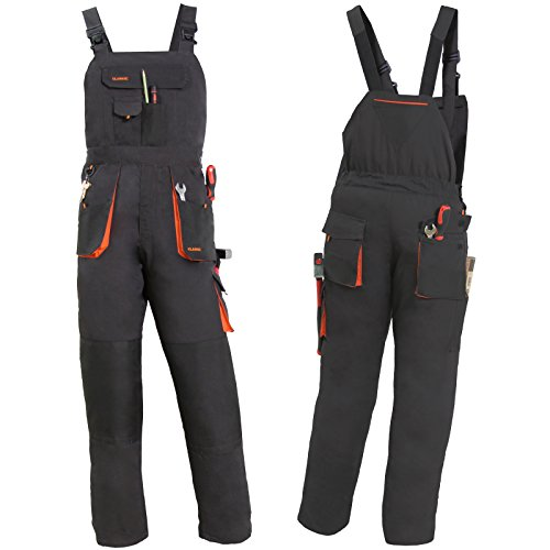 Latzhose Arbeitslatzhose Berufskleidung Arbeitskleidung Größe 48 NEU