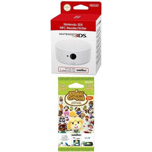 Pack Lecteur NFC pour Nintendo 3DS + Paquet de 3 cartes