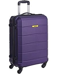 Safari Polycarbonate 65 cms Purple Hardsided Suitcase (REGLOSS ANTISCRATCH 4W 65 PURPLE)