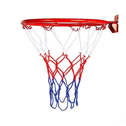 Honsin Basketball Goal Hoop Rim Net Wall Mounted Foldable for Indoor Outdoor Children
