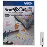 Brother SCAN-N-Cut CAUSB2 No 2 Applikationsmuster Collection White