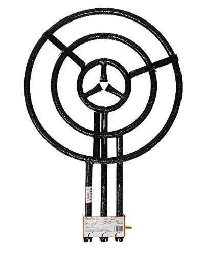 PAELLA WORLD Brûleur universel 60cm 3 anneaux