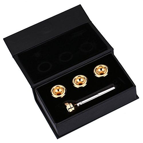 Trompete Mundstück Set mit 1 1/2C 3C 5C 7C vergoldeten Mundstücke Kit