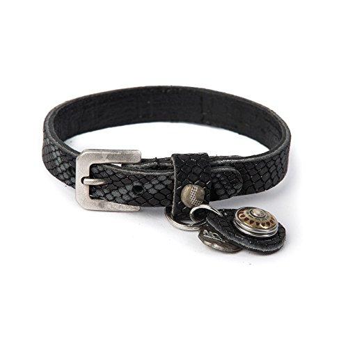 Noosa Armband Wrap Bracelet Petite Pattern Print black, Größe_Bekleidung:S Petite Print Wrap