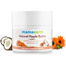 Mamaearth Nipple Butter for Sore and Cracked Nipples, 50ml (White)