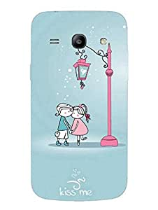 Kiss Me Please - So Cute - Hard Back Case Cover for Samsung Core Plus - Superior Matte Finish - HD Printed Cases and Covers