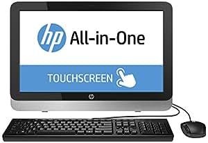 """HP 22-2122nf Ordinateur tout-en-un 21,5"""" Tactile Argent/Noir (AMD, 4 Go de RAM, Disque dur 2 To, Windows 8.1)"""
