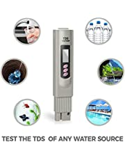 Urban Infotech TDS Metre 3-Button Digital Water Quality Test Meter with Temperature Test Function TDS Quality Water Tester Meter 0-9990 ppm TDS Measurement