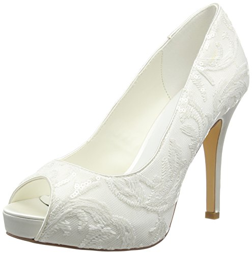 Menbur Damen Keila Pumps Off White (04)