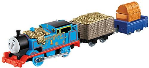 Thomas et ses Amis – Trackmaster – Thomas et son Trésor – Locomotive Motorisée + Wagon