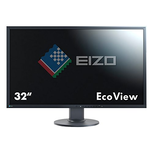 Eizo FlexScan EV3237-BK 32-Inch IPS UHD Desktop Monitor - Black (3840 x 2160) UK