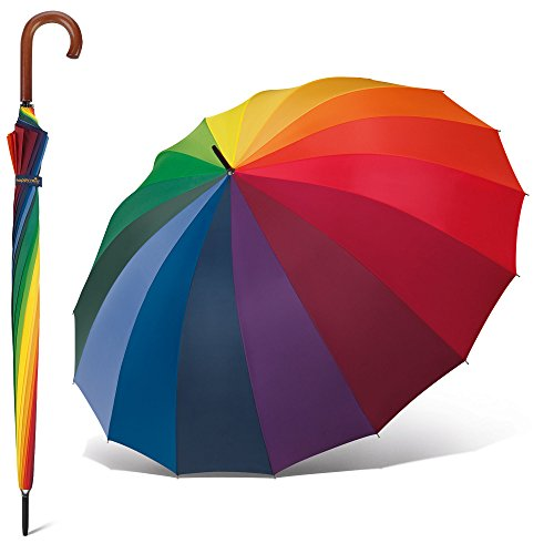 Happy Rain Golf Stockschirm 105 cm