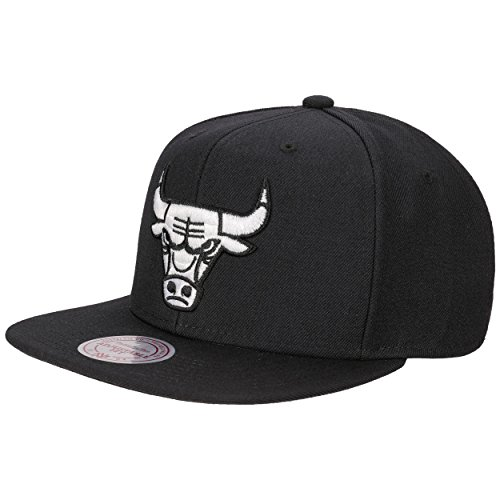 B&W Logo Bulls Cap Mitchell & Ness baseball cap casquette